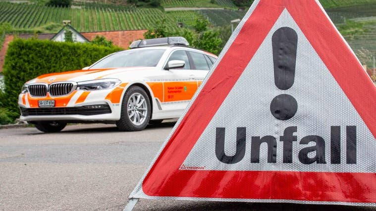 Ein 60-Jähriger verursachte am Donnerstag in Frauenfeld einen Selbstunfall. (Bild: PD)