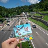 An 54'500 Haushalte in St.Gallen, Gaiserwald und Wittenbach wurde das Pixi-Büchlein mit den Abenteuern von Fredi Voglvergangene Woche versandt. (Bild: Raphael Rohner (02.08.2021))