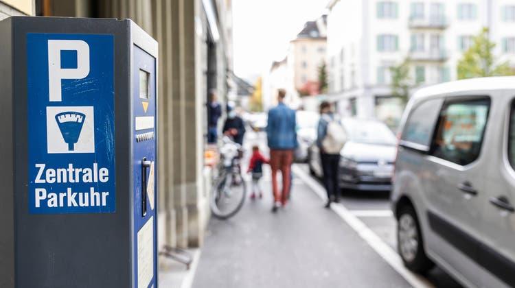 Parkplaetze in der Innenstadt in Luzern. (Bild: Patrick Huerlimann, Luzern, 22. Oktober 2020) (Patrick Huerlimann)