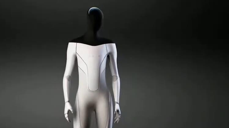 Nun kommt der «Tesla Bot»: Elon Musk will humanoiden Roboter bauen