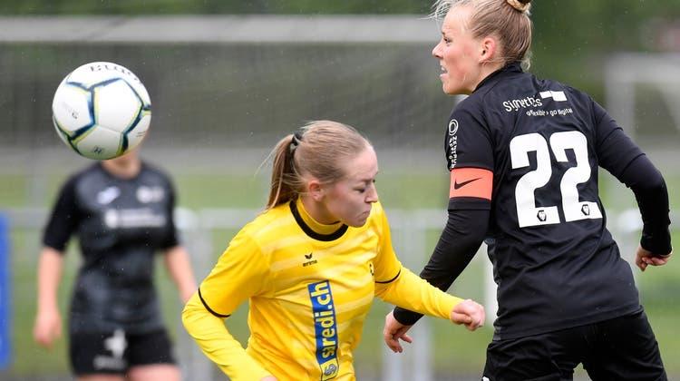 Als Co-Captain führte Michelle Stierli die FCA Frauen in der letzten Saison zum Aufstieg. (Alexander Wagner)