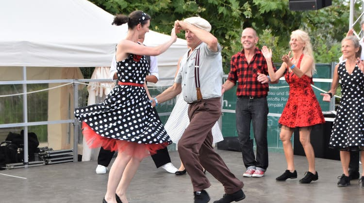 Grosses Sommerfest des Vereins Fricktal tanzt. (Horatio Gollin)