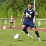 Orcun Cengiz und der FC Uzwil blieben gegen Eschen/Mauren ohne Tor. (Bild: Tim Frei (Henau,14. August 2021))