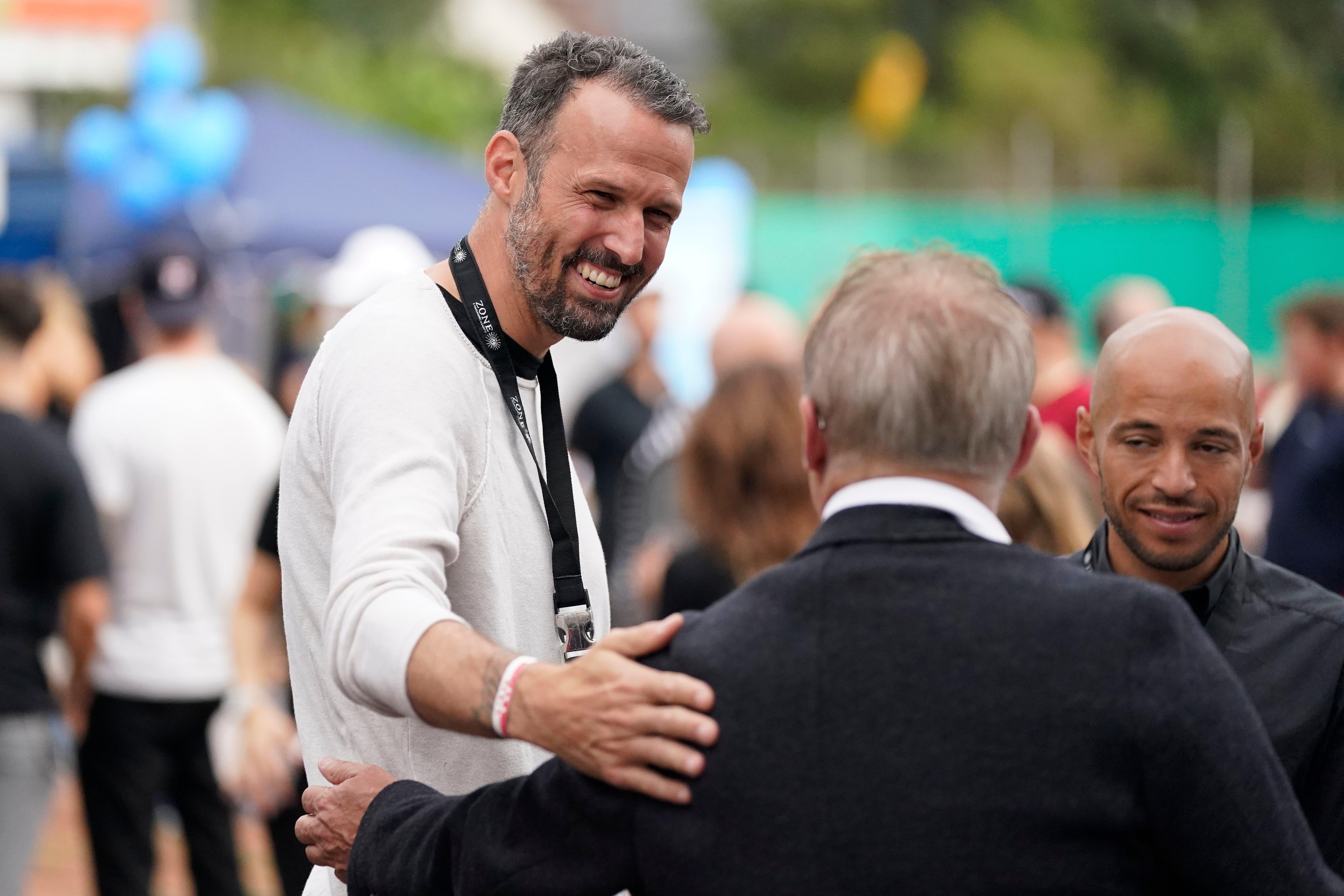 Ehemaliger Nationalspieler und Business Developer FC Basel Marco Streller am Play for Charity Fussballspiel zugunsten von Hilfsorganisationen für Frauen auf dem Areal des Stadion Altenburg am 22. August 2021 in Wettingen.