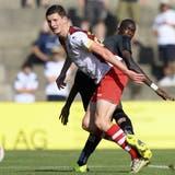 Sebastian Gerspacher erzielte das erste Tor für den FC Solothurn in der neuen Saison. Es war der Türöffner zum 4:0-Auswärtssieg in Buochs. (Keystone)