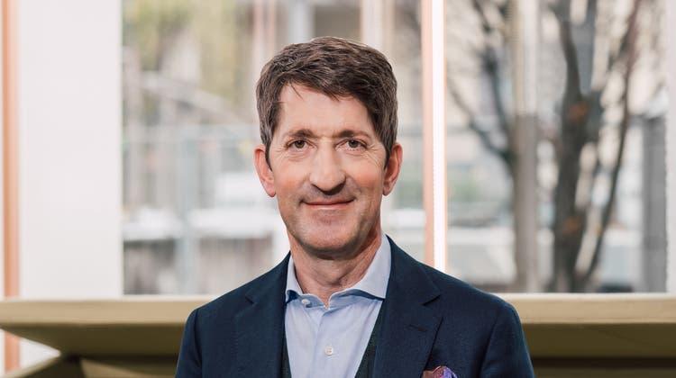 David Sarasin, Chef der Bank Linth mit Hauptsitz in Uznach. (Bild: PD)