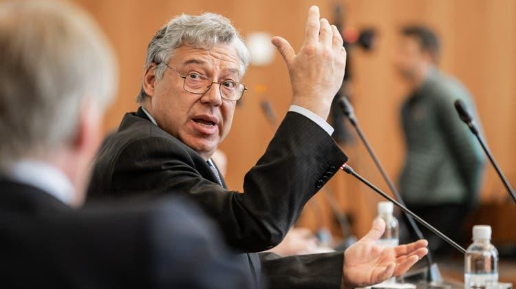 Neben seinem Amt als Stadtrat in Lugano amtet Filippo Lombardi neu als Chef der Auslandschweizer-Organisation. (Keystone)