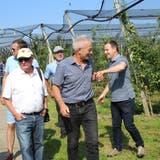 Die Obstbranche traf sich am Samstag in Güttingen. (Trudi Krieg)