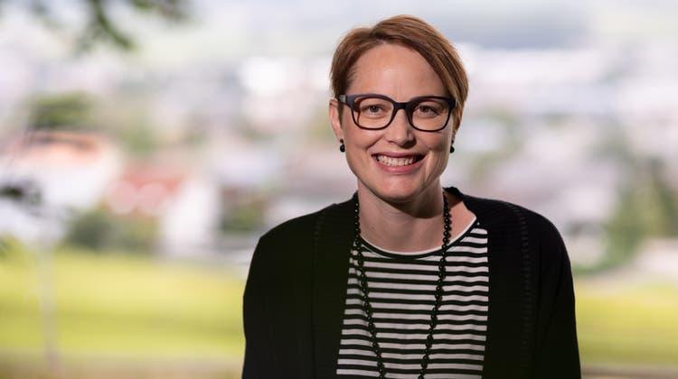 Lea Schluep-Stüdeli will Gemeindepräsidentin von Bellach werden. (Tom Ulrich)