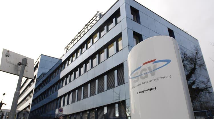 Solothurner Gebäudeversicherung: Hauptsitz an der Baselstrasse. (Oliver Menge)
