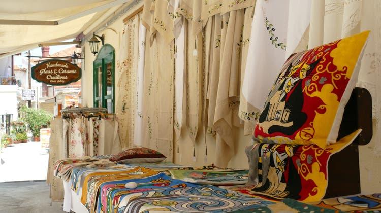 Das nachgebaute SchiffKyreniaim Museum Thalassa in Ayia Napa. (Lea Durrer)