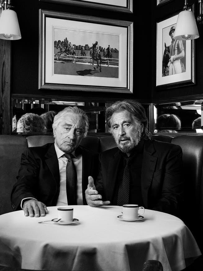 Cover für das Magazin «Variety»: Robert de Niro und Al Pacino, fotografiert von Marco Grob (2019)