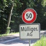 Die Gemeinde Mülligen zählte Ende 2020 insgesamt 1076 Einwohnerinnen und Einwohner. (Bild: cm (26. Mai 2020))