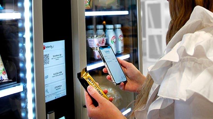 Künftig kann man an den Selecta-Automaten bargeldlos bezahlen. (Selecta)