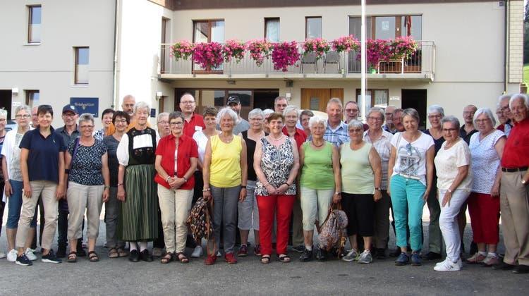 Jubiläumsausflug der Trachtengruppe Muhen am Samstag, 21. August 2021