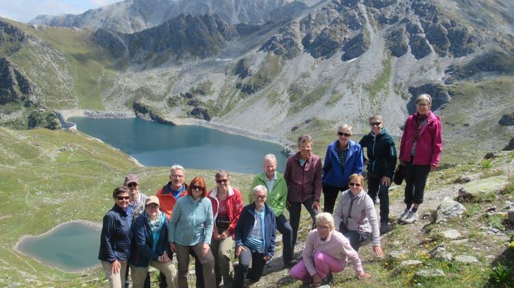 Bergwanderung von Chandolin über den Illpass zum Lac Noir