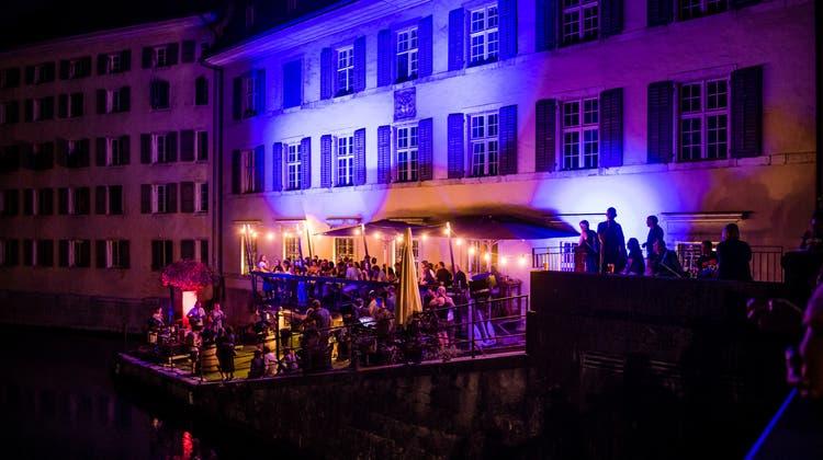 Für die Musiktage verwandelt sich das Dock wieder in eine Konzertbühne. (Michel Lüthi)