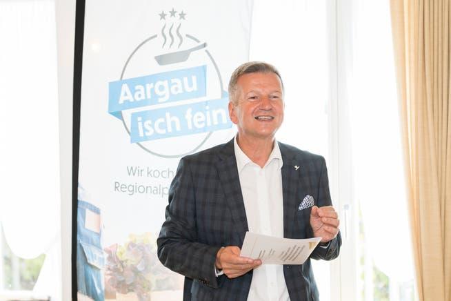 Bruno Lustenberger, Präsident von Gastro Aargau, sieht die Zertifikatspflicht als unnötige Auflage für Wirte.