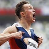 """Sein Trainer sagt zu Karsten Warholm: """"Im Wettkampf ist er ein Krieger"""". (Keystone)"""