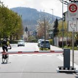 Die Montage der Barrieren zur Verkehrsberuhigung war rechtens. (Patrick Lüthy)