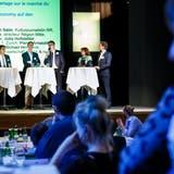 An der Fachtagung der Wohntage diskutieren Fachleute jeweils Themen rund um den Wohnungsmarkt. (Hanspeter Bärtschi)