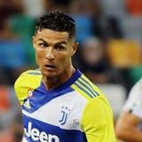 Cristiano Ronaldo wurde vergangene Woche beim 2:2 gegen Udinese eingewechselt. (Keystone)