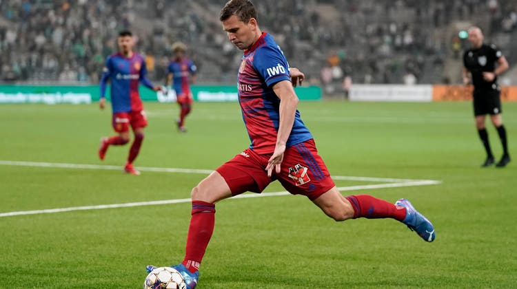 Fabian Frei im Spiel gegen Hammarby. (Fresh)