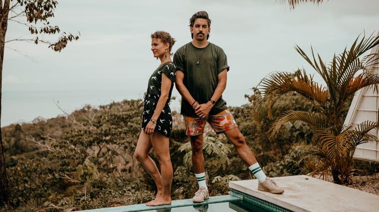 «Two and the Sun»: Das Musikerpaar Stefanie und Jonathan Müller. (Bild: PD)