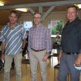 Sie wollen in Böztal Amman oder Vizeammann werden: Andreas Thommen (v.l.), Roger Frey und Robert Schmid. (Hans Christof Wagner (25. August 2021))