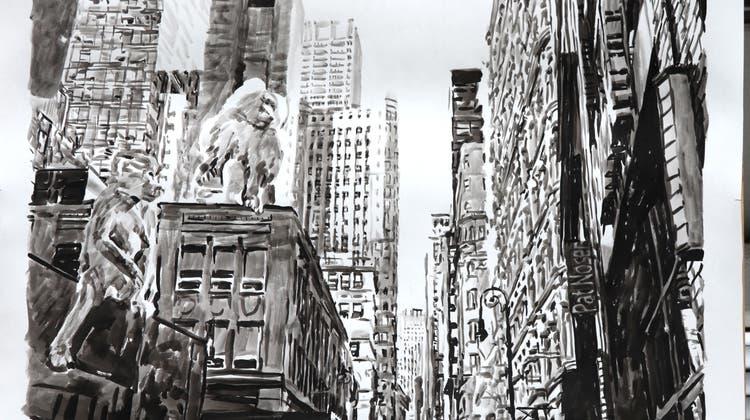 Die «Wallstreet» ist in der Hand von Affen. (Pat Noser)