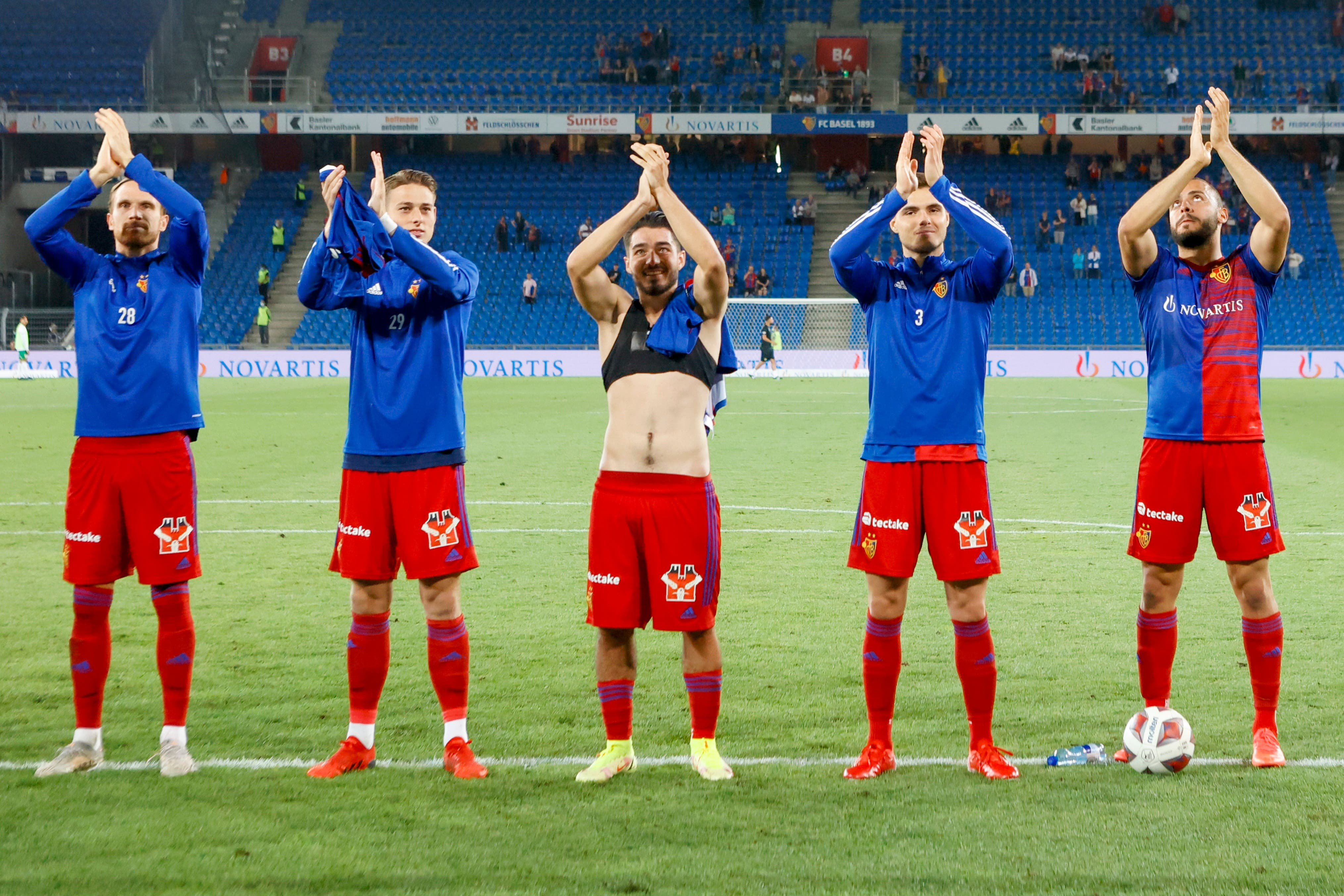 Nach dem Hinspiel konnte der FCB jubeln. Um sich für Europa zu qualifizieren braucht es aber auch noch ein gutes Resultat im Rückspiel.