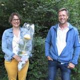 Die Leitung der Volkshochschule Thal: Präsidentin Tina Berger und Vize-Präsident Christian Fuchs. (Walter Schmid)