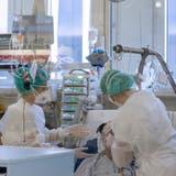 Es liegen wieder viel mehr Covid-19 Patientinnen und Patienten in den Solothurner Spitälern als noch vor ein paar Wochen. (Alex Spichale / BAD)
