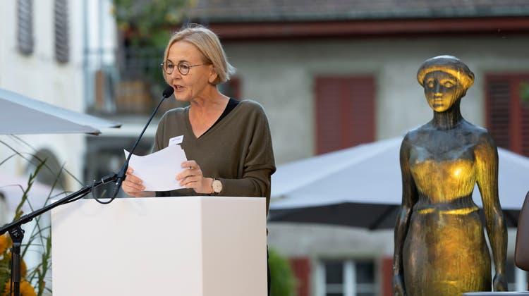 Regierungsrätin Susanne Schaffner: Mehr Frauen sollen Hörstationen erhalten. (Patrick Luethy)