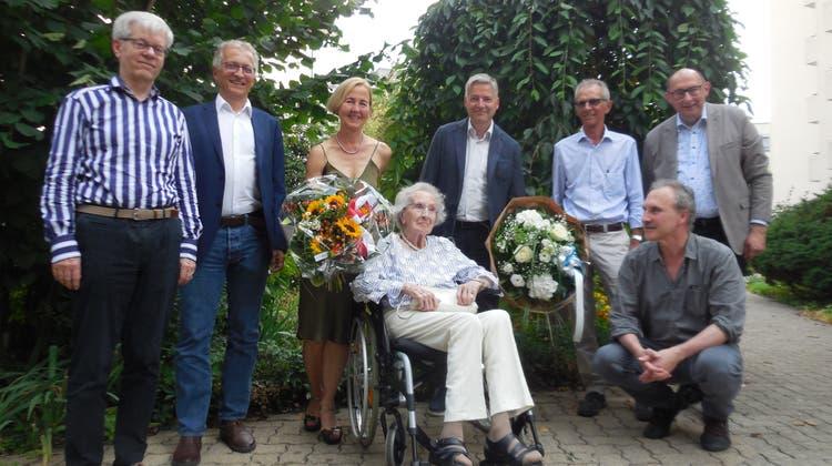 100. Geburtstag von Rösly Meier-Meyer