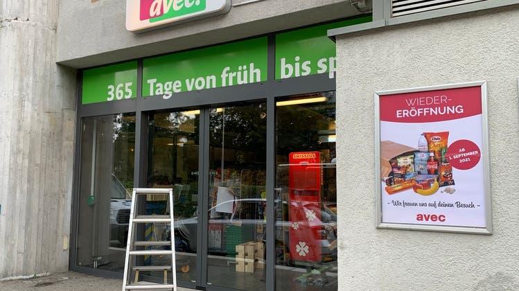 Nach pandemiebedingter Schliessung öffnet der Avec Shop am Bahnhof Muri neu als eigenständige Agentur. (Pascal Bruhin)