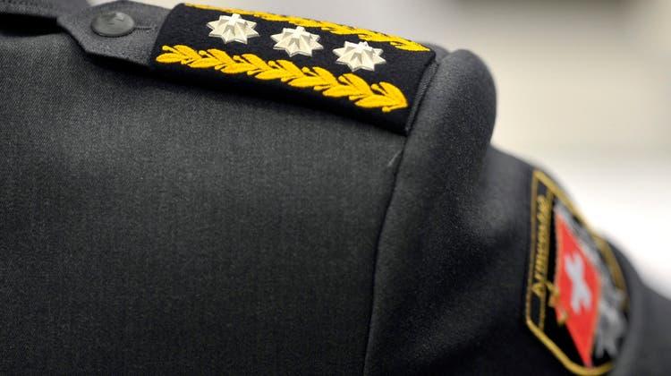 Die Gesellschaft der Schweizer Offiziere wählte am Samstag einen neuen Präsidenten. (Symbolbild: Keystone)