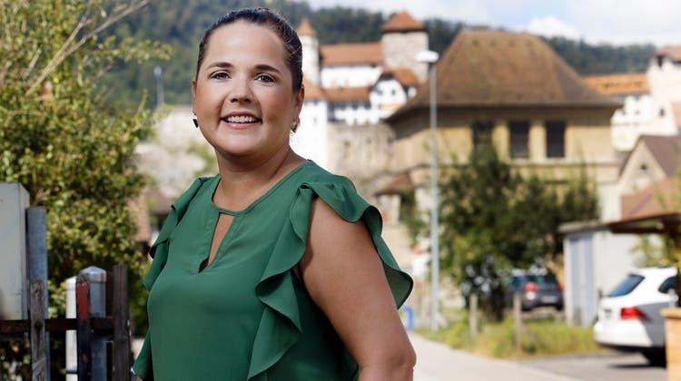 SVP-Nationalrätin Martina Bircher in Aarburg: «Ich wurde in den Gemeinderat gewählt, um Probleme zu lösen, da kann ich nicht immer nach Parteibuch vorgehen.» (Andre Albrecht)