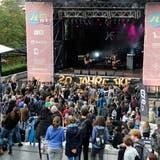 Für das diesjährige Jugendkulturfestival wurde nur eine Freiluftbühne bewilligt. (Martin Toengi)