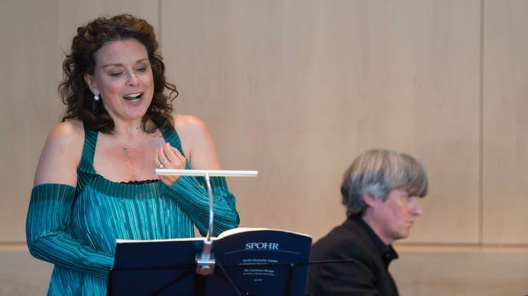 Die Sopranistin Malin Hartelius interpretierte Lieder von Franz Schubert und Louis Spohr. (Bild: PD/Jorim Jaggi)