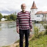 Stephan Müller, Stadtratskandidat Aarau, fotgrafiert beim ENIWA-Kraftwerk in Aarau, am 26. August 2021. (Severin Bigler / © CH Media)
