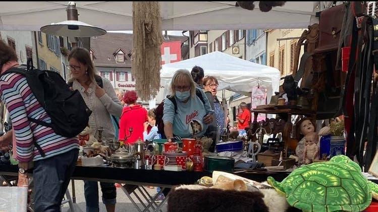 Grossaufmarsch am Antiquitäten- und Flohmarkt: «Die Leute haben es genossen»