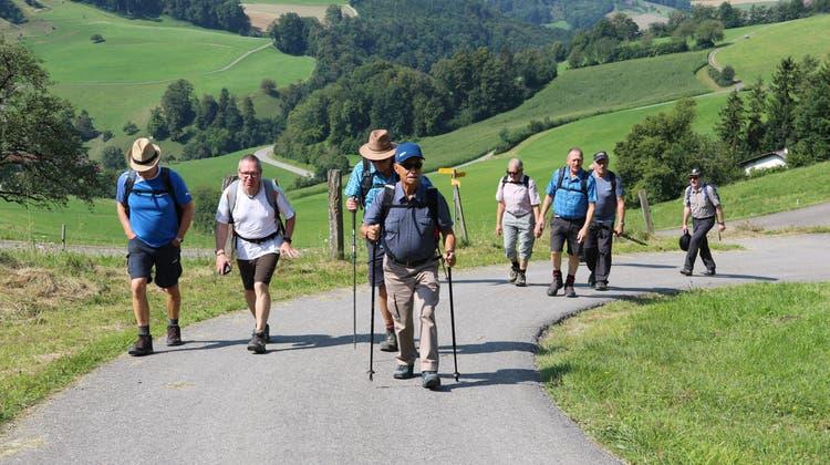 Eindrückliche Jurawanderung der Männerriege Niedererlinsbach