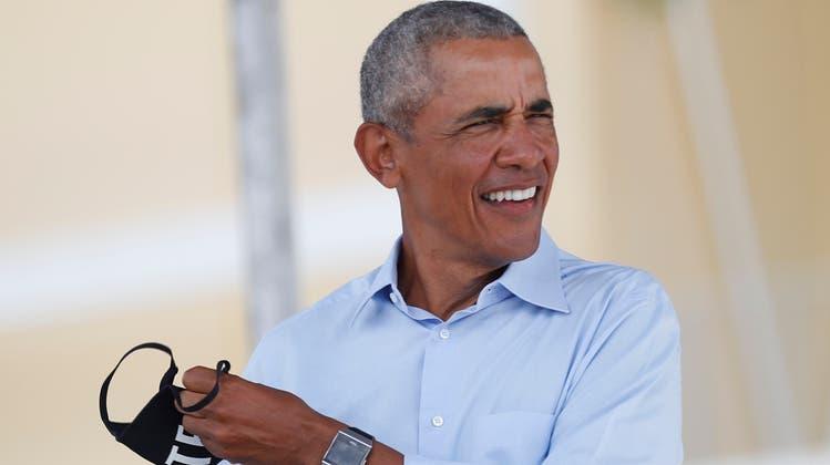 Ready to party: Ex-Präsident Barack Obama. (Getty)