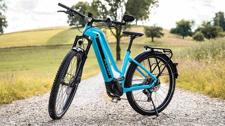 Über Stock und Stein geht es mit dem E-Bike leichter. Mit etwas Routine macht es zudem mehr Spass. (Bild: Flyer E-Bikes)