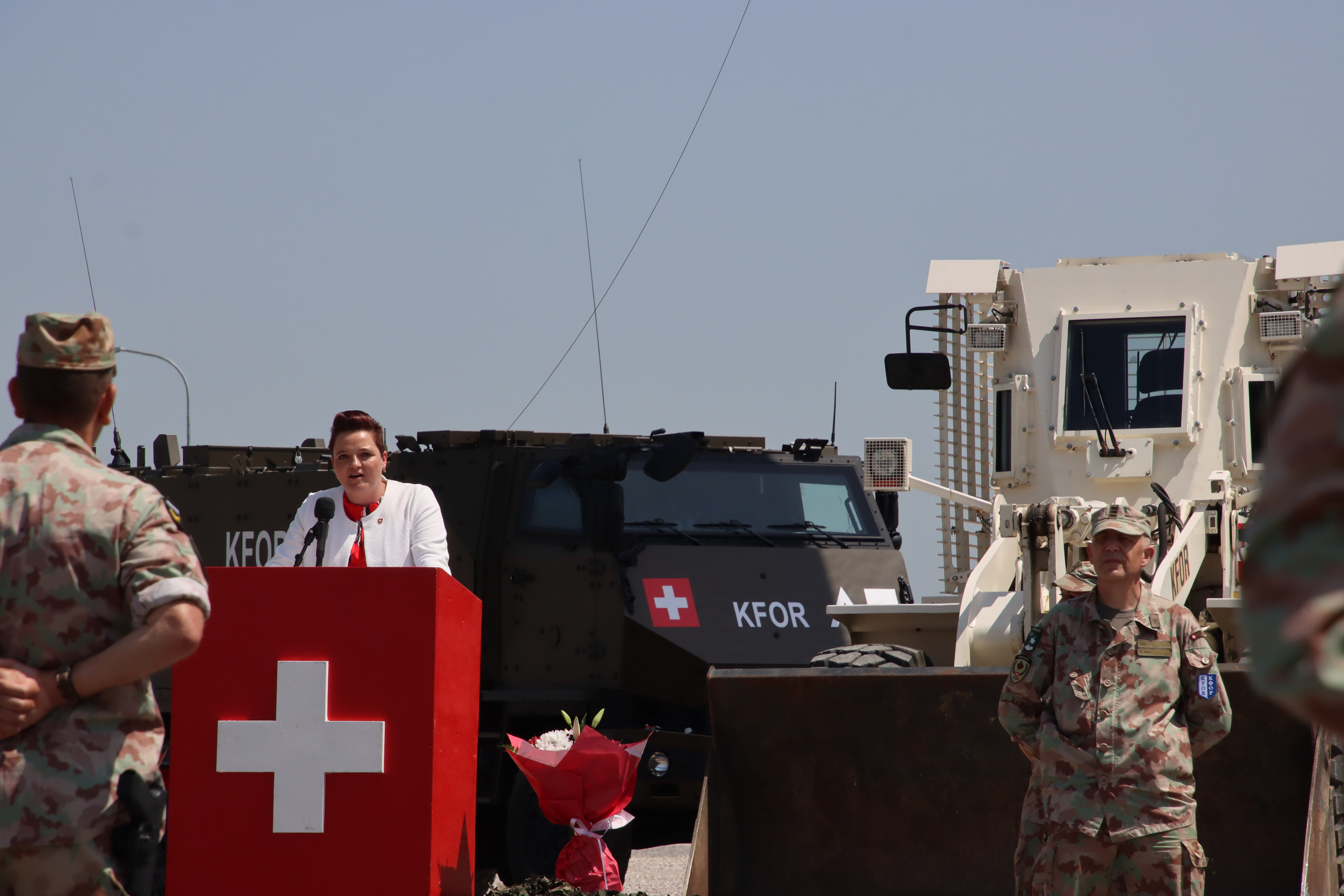 Elf Jahre ist es her, seit Heimgartner selbst zum ersten Mal für die Schweizer Armee im Kosovo war.