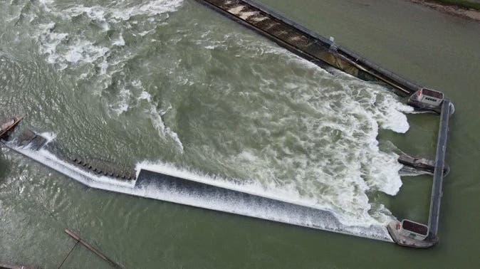 Die Schlauchbootfahrt endete mit einem Rettungseinsatz. (Kapo AG)