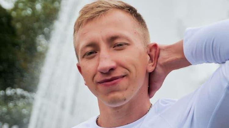 Witali Schischow, ein weissrussischer Aktivist, wurde erhängt in einem Park in Kiev gefunden. (Twitter)