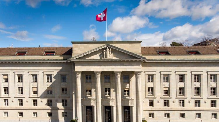 DasBundesgericht in Lausanne korrigiert einen Aargauer Landesverweis-Entscheid. (Laurent Gillieron / KEYSTONE)