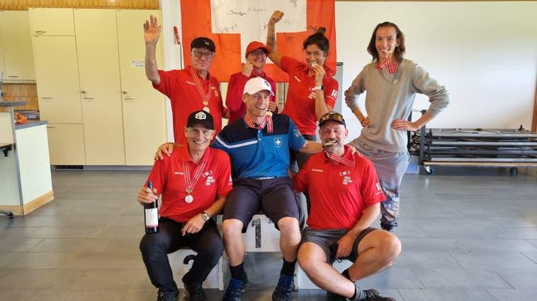 Solothurner Discgolfer holen 4 Medaillen an der Schweizer Meisterschaft